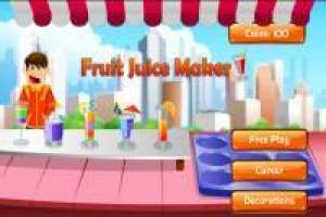 Magasin de jus de fruits